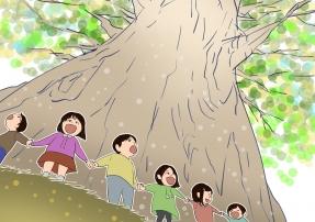 ダイチとおおきい木