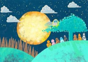 お月見どろぼう